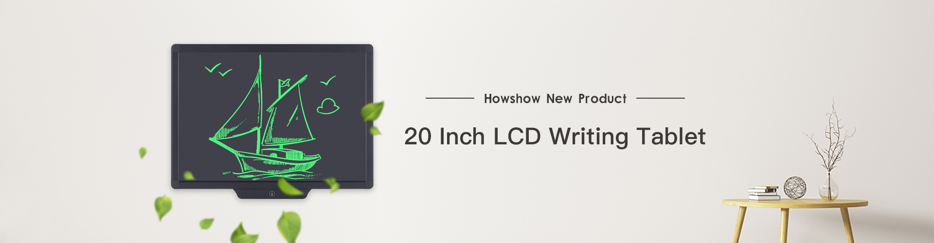 Howshow New Product : 20 Inch LCD writing tablet
