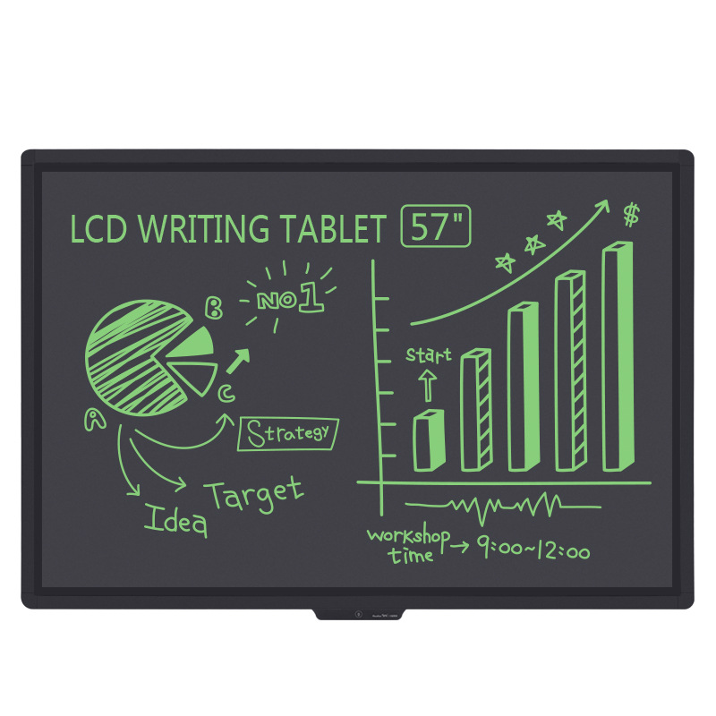 "57"" Light energy lcd blackboard"