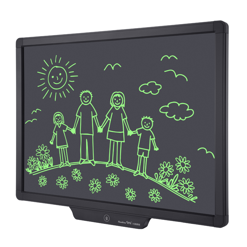 "20"" Light energy lcd blackboard"